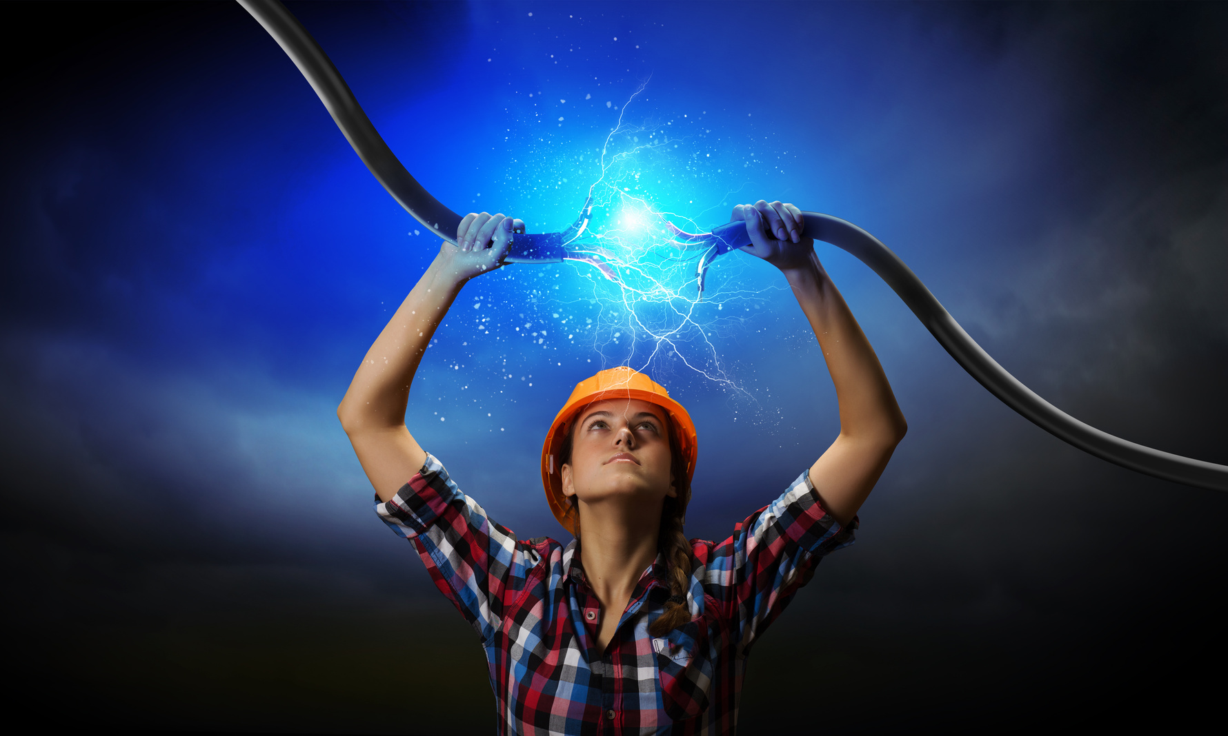 красивые картинки электричество помощи